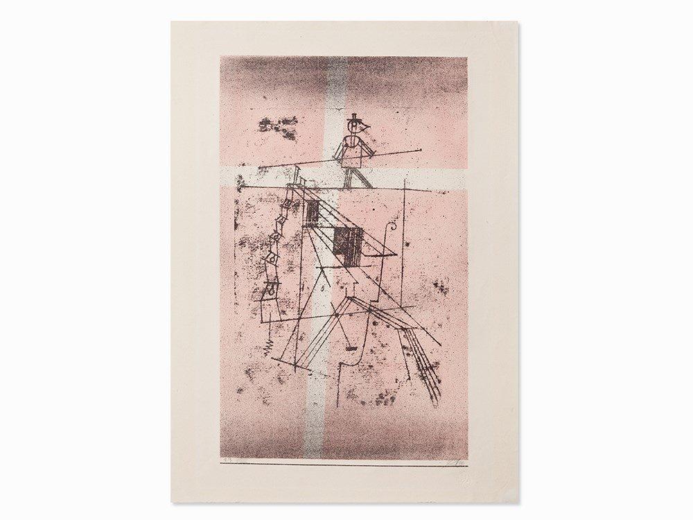 Paul Klee, Seiltänzer, from Kunst der Gegenwart, 1923
