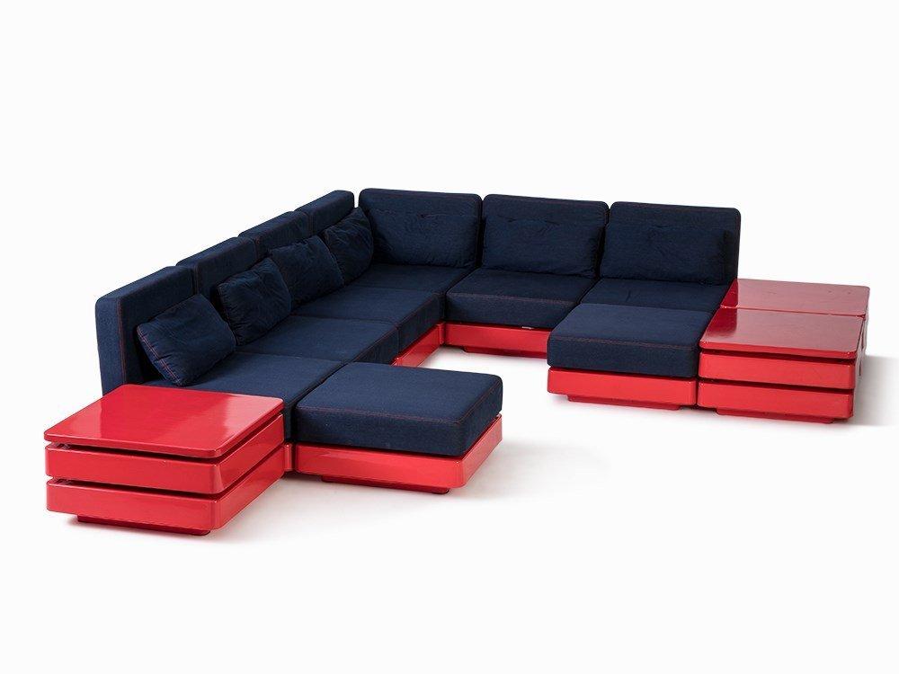Hermann Miller, Modular Lounge Furniture, USA, c. 1970