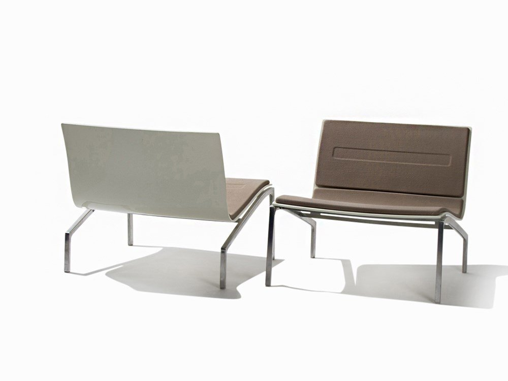 Piero Lissoni, Pair of Lounge Chairs, Fritz Hansen,