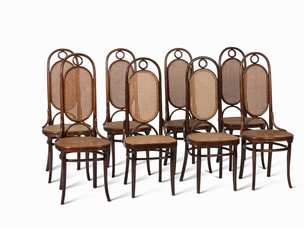 Michael Thonet, 8 Chairs Model No. 17, c. 1862