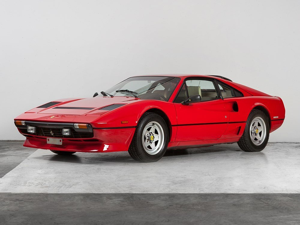 Ferrari 208 GTB turbo, Model Year 1983