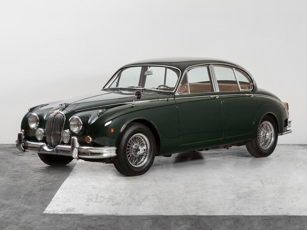 Jaguar Mk II 3.8 Left-hand drive, Model Year 1964