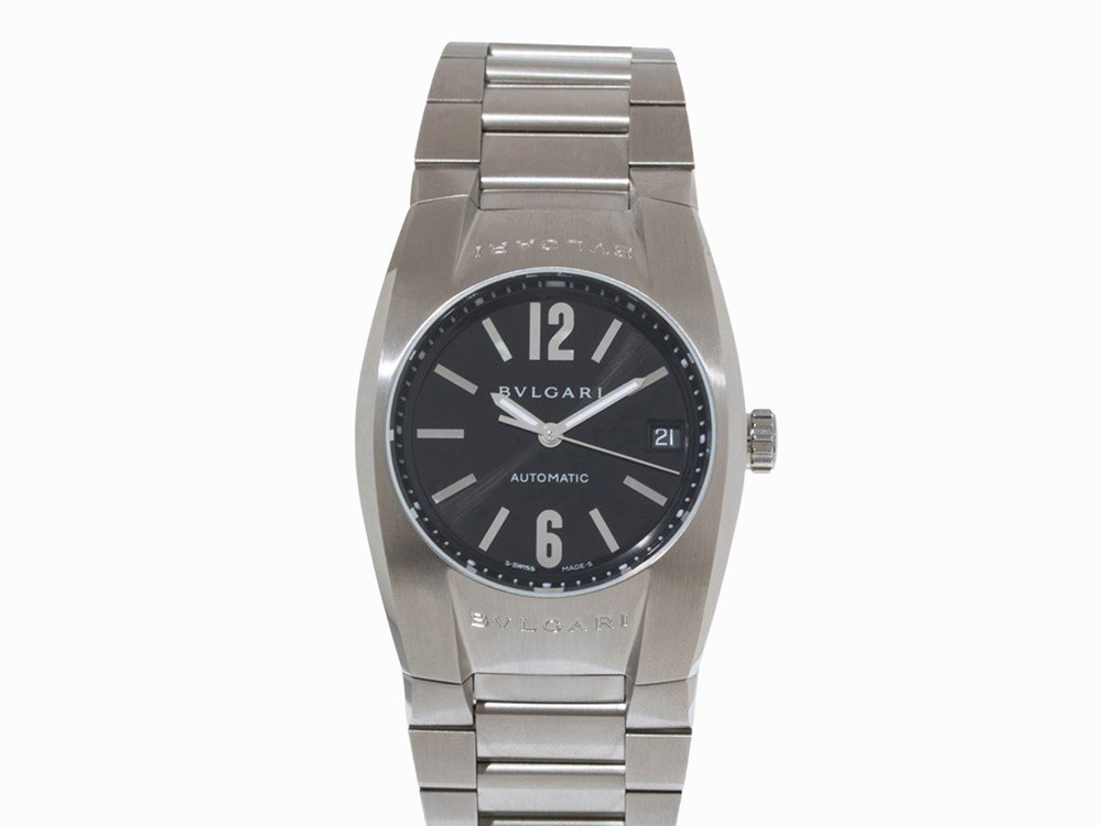 Bulgari Ergon Wristwatch, Ref. EG35S, Switzerland,
