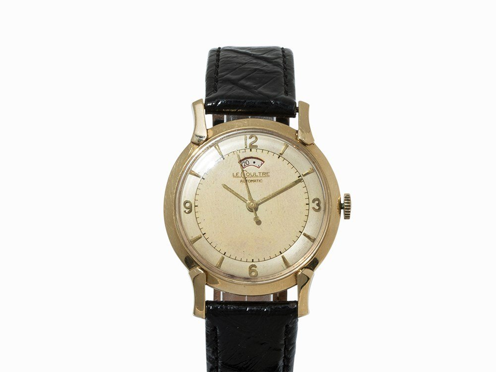 LeCoultre Powermatic Wristwatch, 14K Gold,