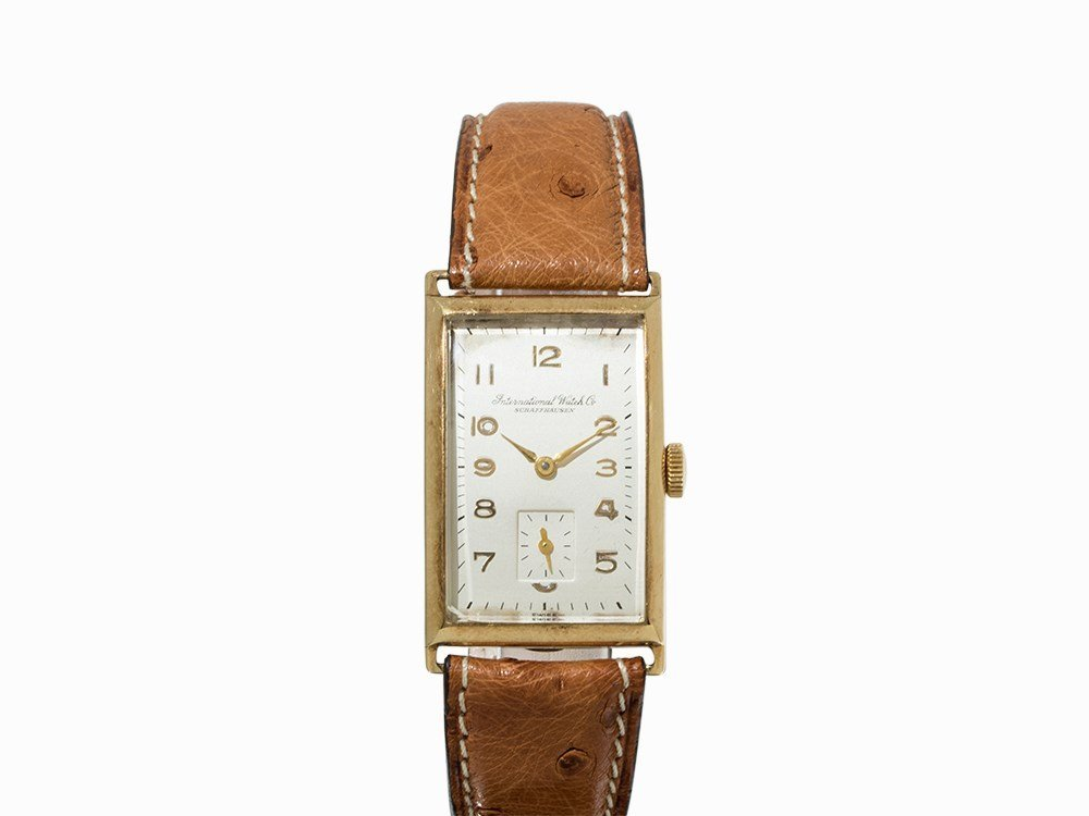 IWC Vintage Wristwatch, 14K Gold, Switzerland, c. 1940