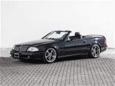 Mercedes-Benz SL 500 Roadster Convertible, Model Year