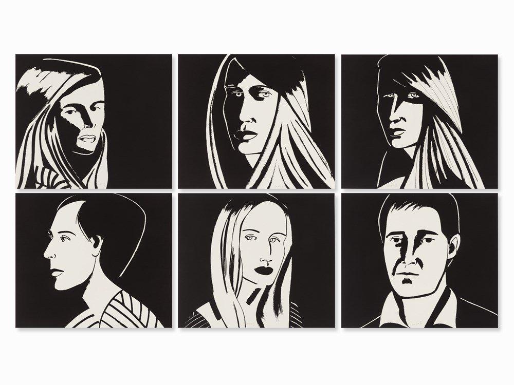 Alex Katz, Six Aquatints, 6 Aquatints, 2013