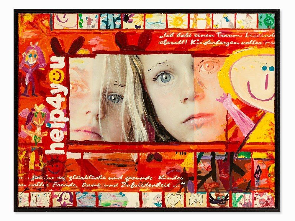 Gerald Herrmann, Mixed Media, 'Help 4 you', Austria,