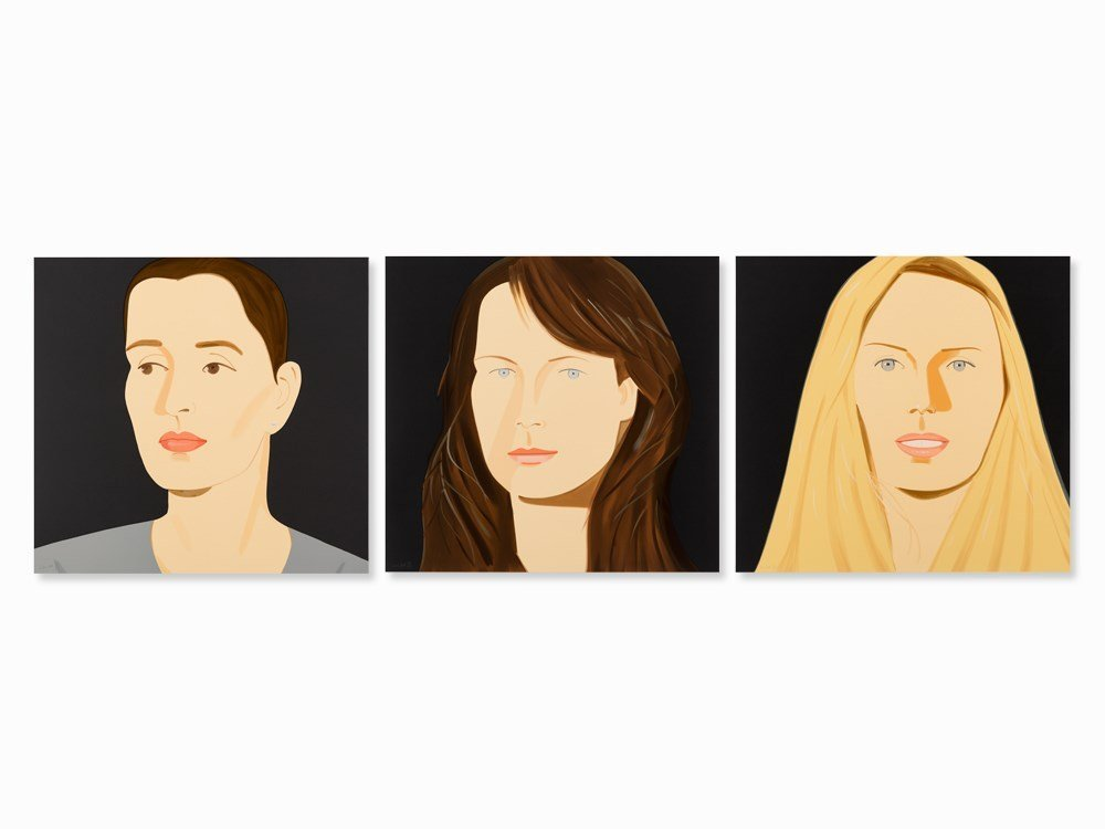 Alex Katz, Portraits Sara, Vivien & Sophie, 3