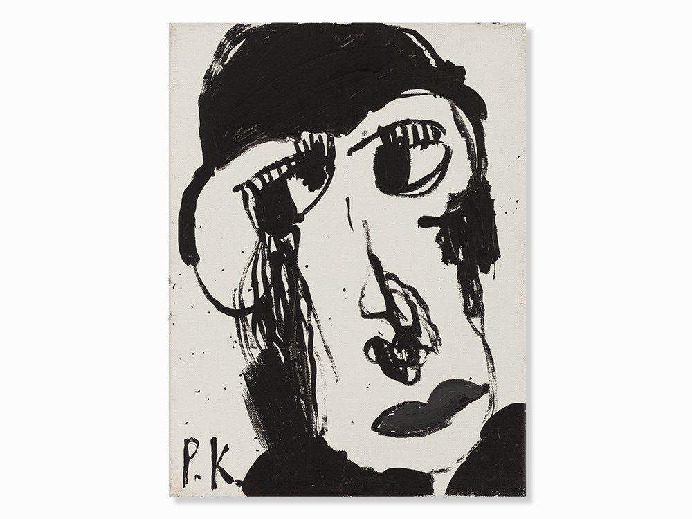 PeterKrüger, Untitled, Acrylic Painting, 1996