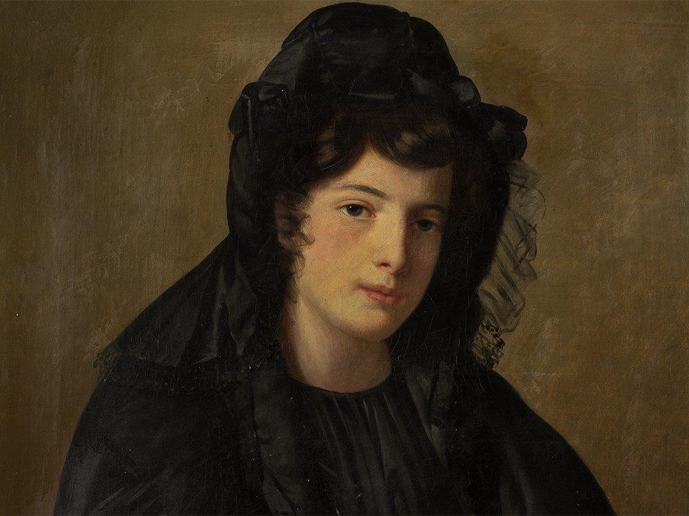 Joseph J. Vaudechamp (1790-1866), Portrait of a Lady,