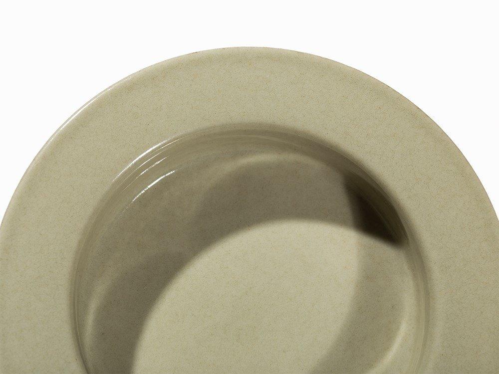 Celadon Brush Washer with Broad Rim, Qianlong Mark - 3