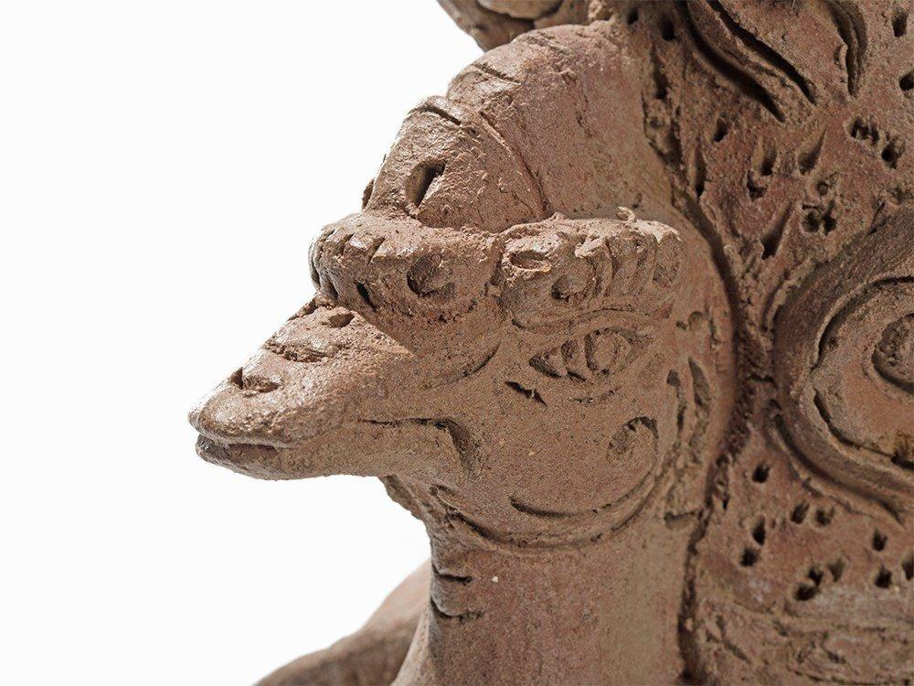 Terracotta Jar in Shape of a Hintha, Majapahit, - 3