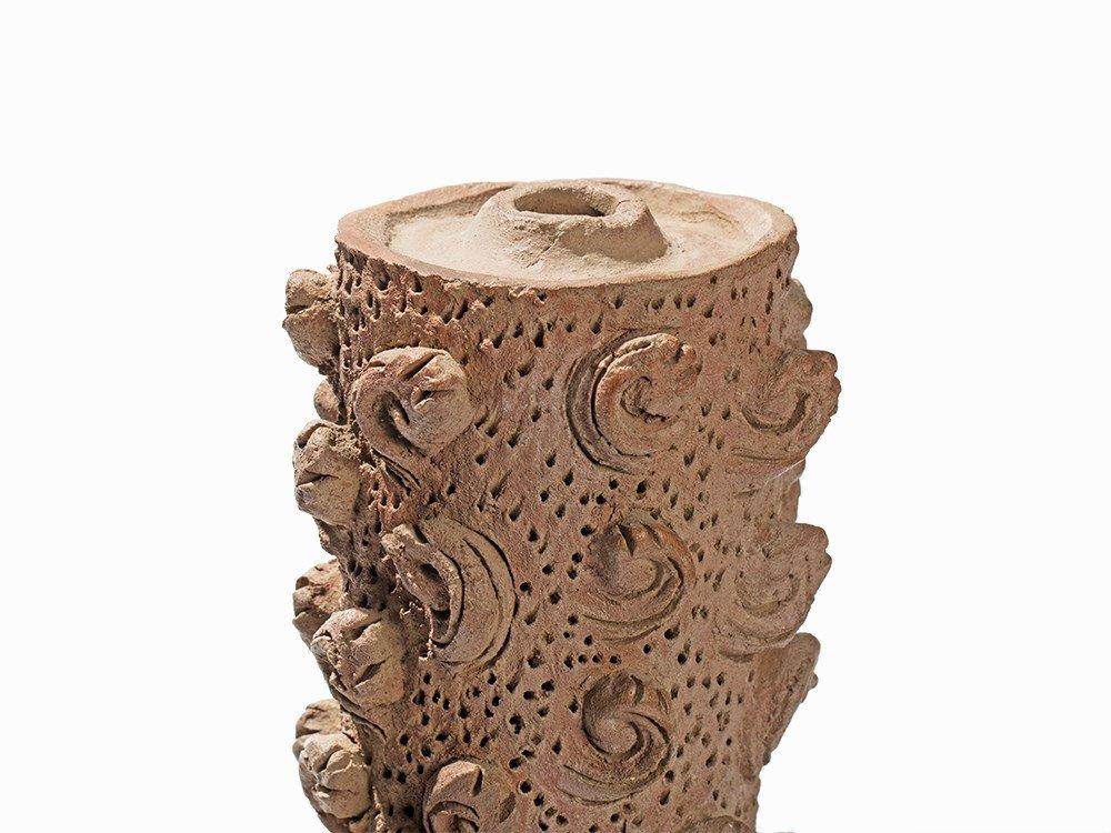 Terracotta Jar in Shape of a Hintha, Majapahit, - 4