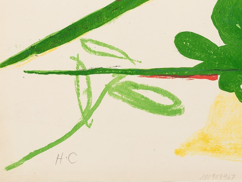 Graham Sutherland, Insect, Lithograph in Colors, - 4