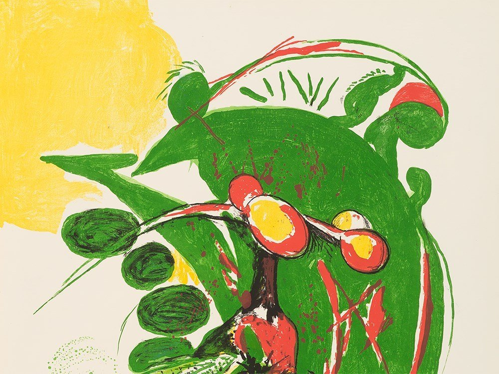 Graham Sutherland, Insect, Lithograph in Colors, - 5
