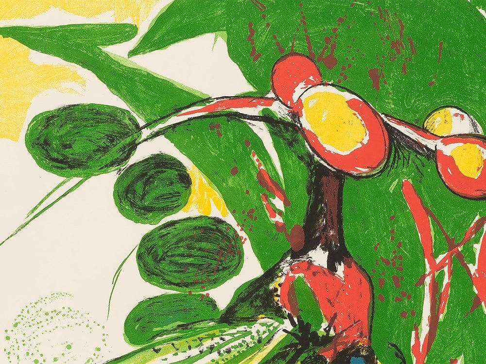 Graham Sutherland, Insect, Lithograph in Colors, - 6