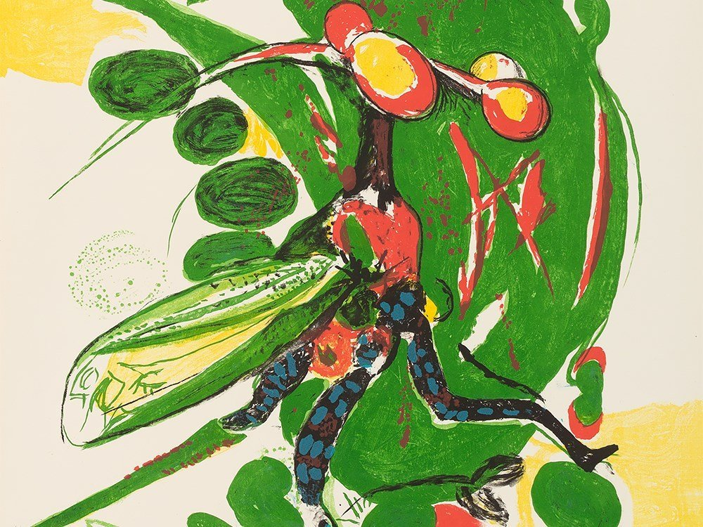 Graham Sutherland, Insect, Lithograph in Colors, - 7