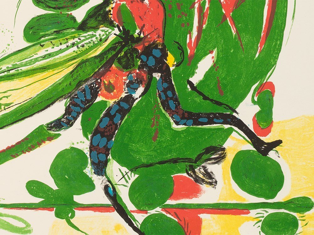 Graham Sutherland, Insect, Lithograph in Colors, - 8
