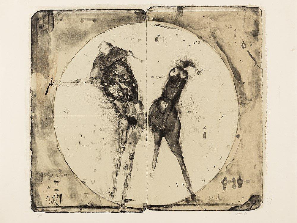 Paul Wunderlich, Adam und Eva, Lithograph, 1960 - 2