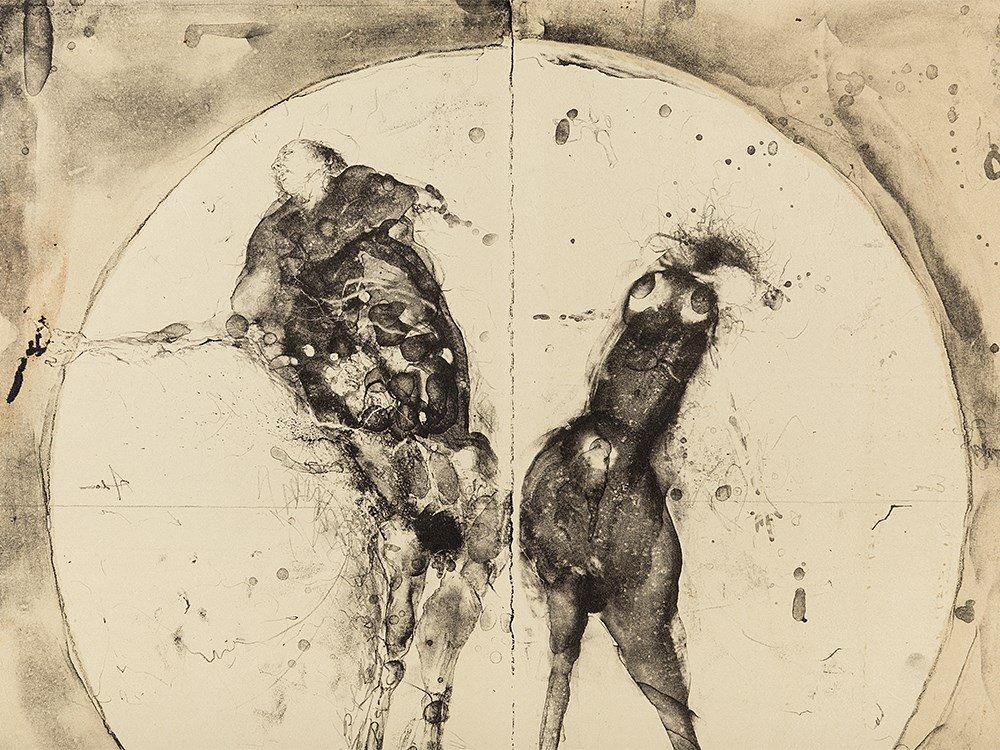 Paul Wunderlich, Adam und Eva, Lithograph, 1960 - 5
