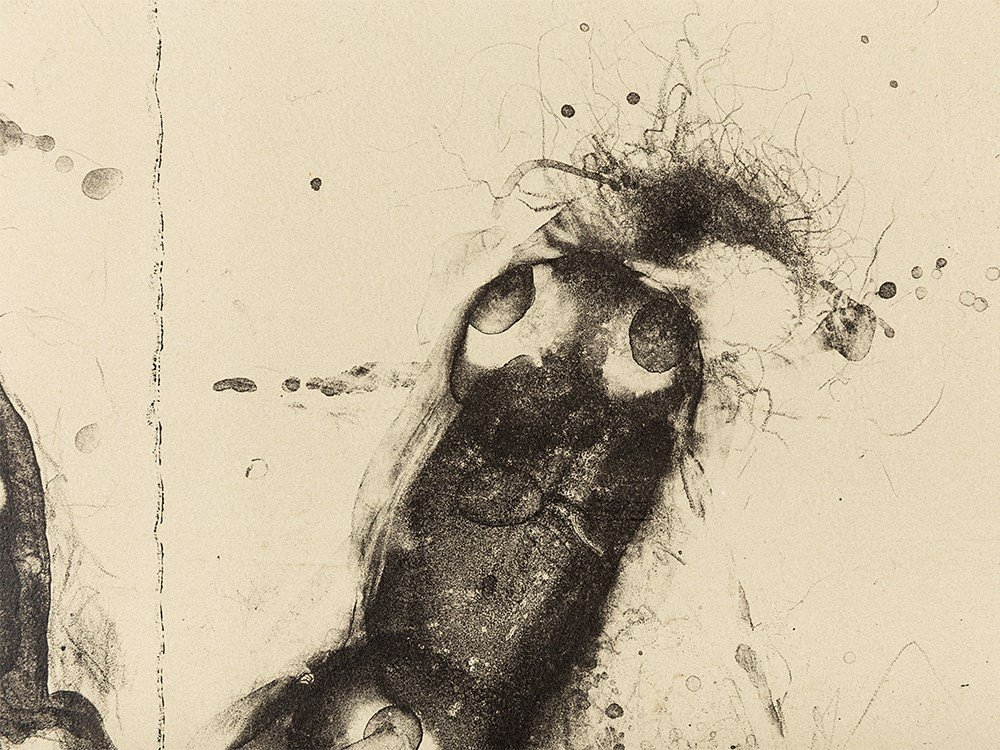 Paul Wunderlich, Adam und Eva, Lithograph, 1960 - 6