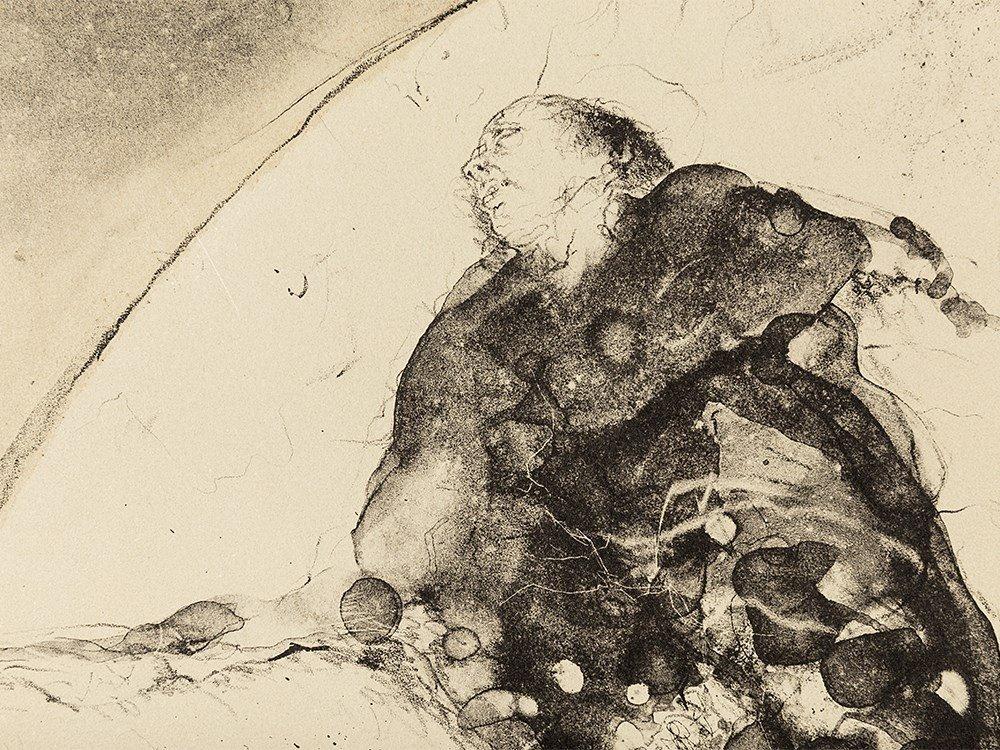 Paul Wunderlich, Adam und Eva, Lithograph, 1960 - 7