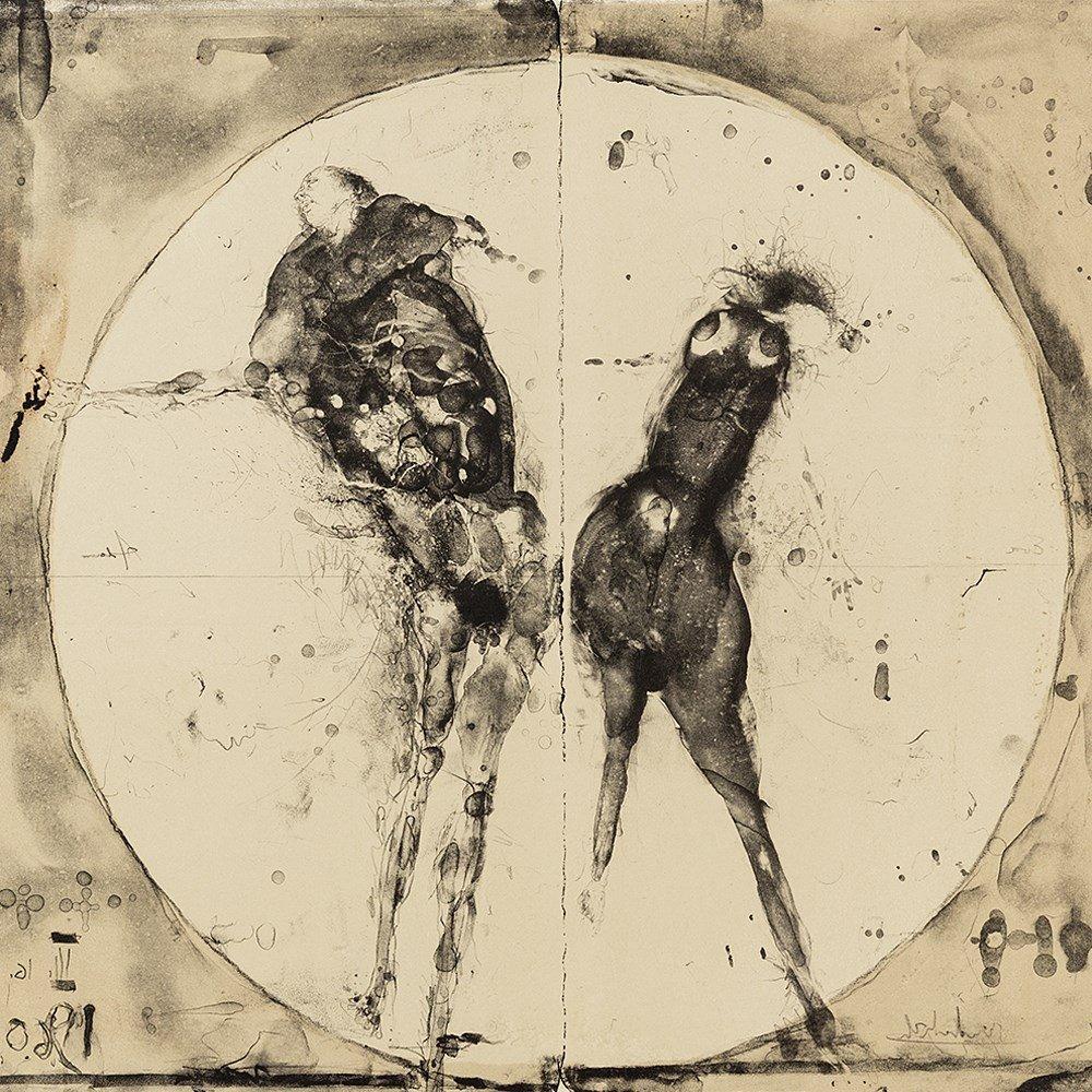 Paul Wunderlich, Adam und Eva, Lithograph, 1960 - 9