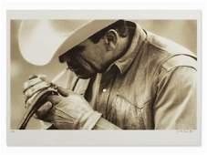 Dieter Blum, Rauchender Mann 3, Serigraph, 1998