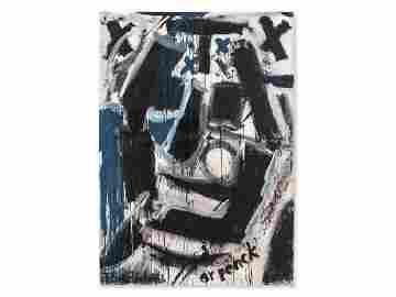 A.R. Penck / Frank Breidenbruch, Porträt von H. Zimcon,