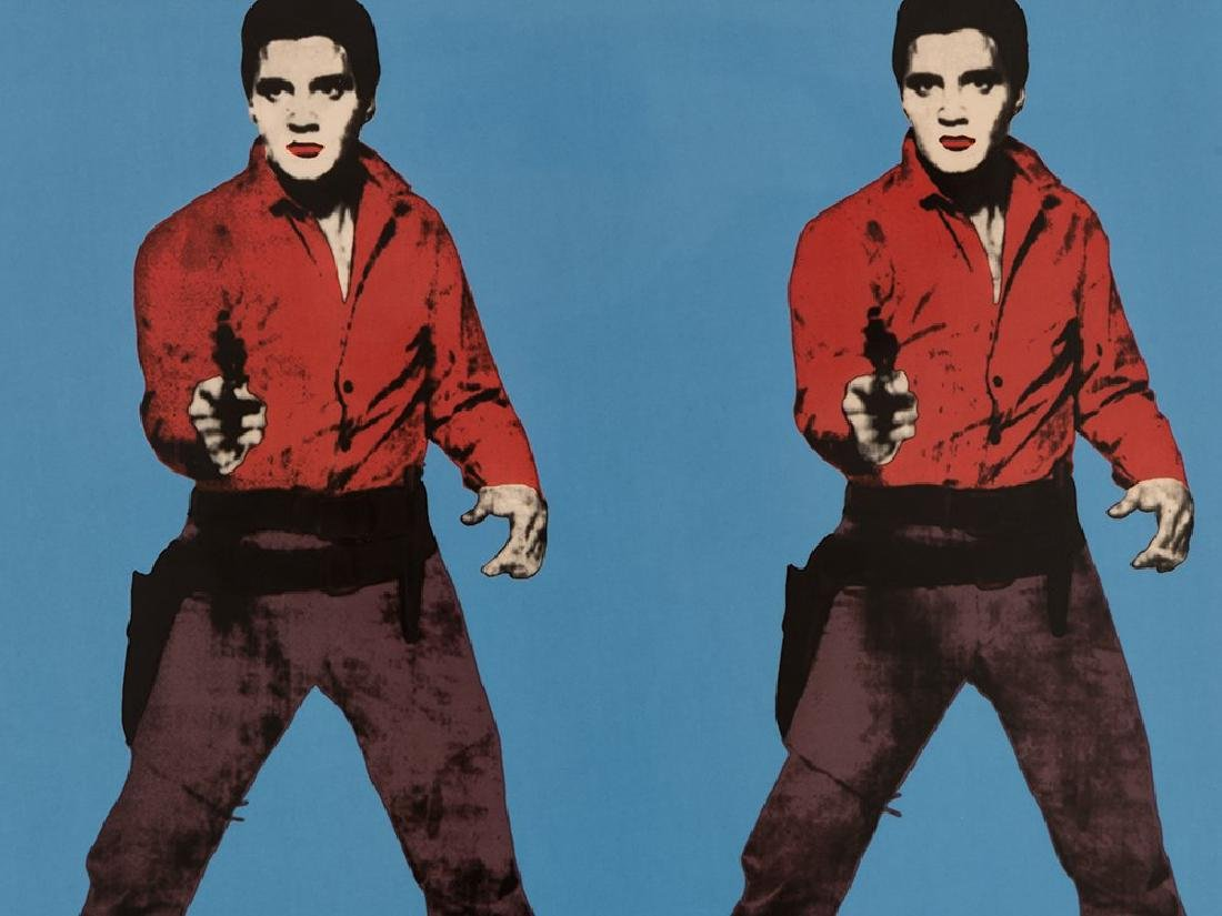After Andy Warhol, Elvis Presley, Rosenthal, Wall