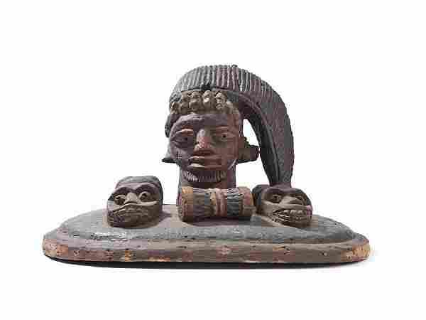 Yoruba 'Egungun' Headdress, Nigeria, Mid-20th Century