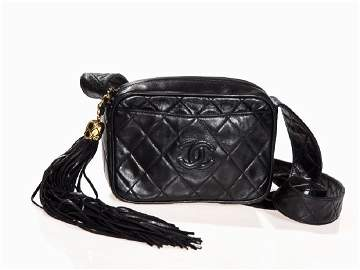 Chanel, Shoulder Bag with Fringed Tassel, Italy,