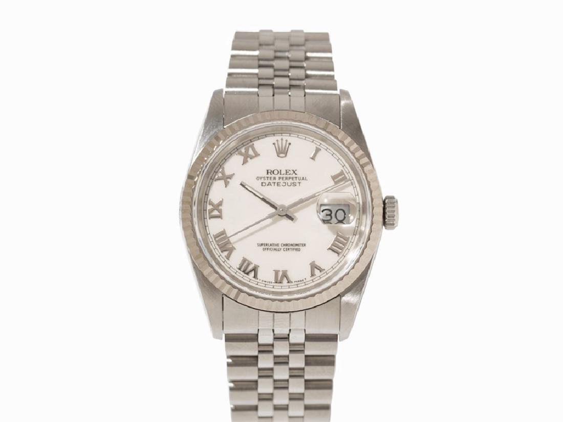 Rolex Oyster Perpetual Datejust, Switzerland, 1989/1990