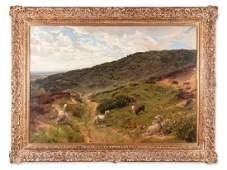 Henry William Banks Davis, Oil Painting 'Highlands',
