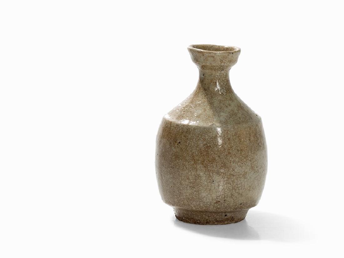 Ido-Tokuri, Sake Bottle, Korea, 16th C.