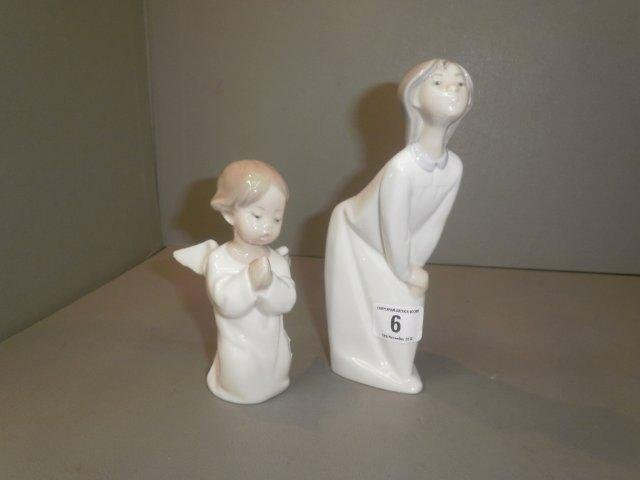 6: Two Lladro figures 'Daisa' and one other.