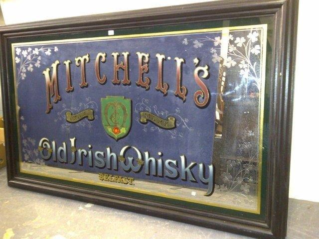 220: A good, large Mitchell's Old Irish Whisky Belfast