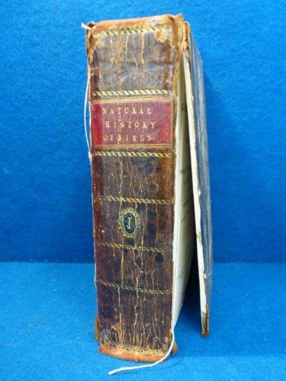 Natural History of Birds - a leather bound volume,