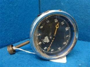 A Smiths dashboard car clock.