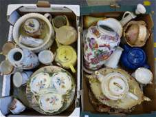 A quantity of Victorian and later ceramics including