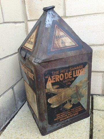A new Gamages 'Aero deluxe' Motor Oil five gallon