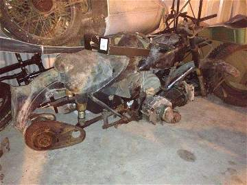 A 1953 Matchless 500cc G80 project
