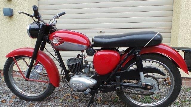 1962 BSA Bantam 175cc Reg.no. 532 YUD