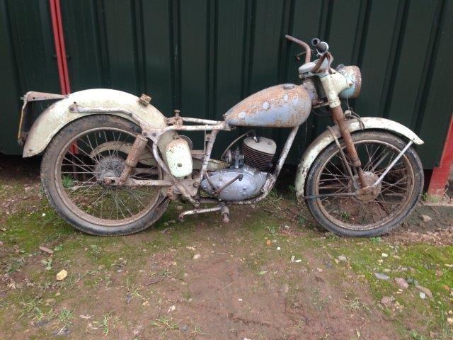 c. 1951 BSA 125cc D1 Bantam