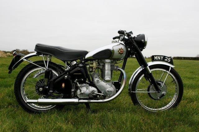 1952 BSA 'Gold Star' 350cc