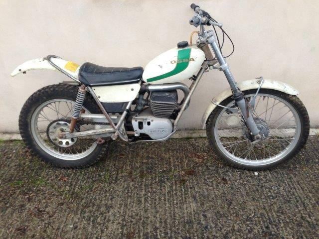 Late 1960s/early 1970s Ossa 250cc Trials