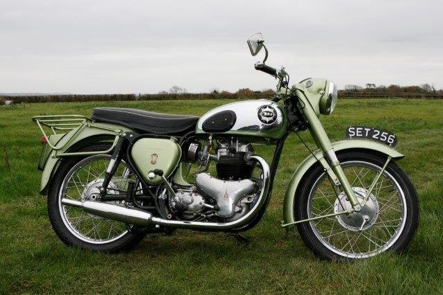1958 BSA 'Shooting Star' 500cc