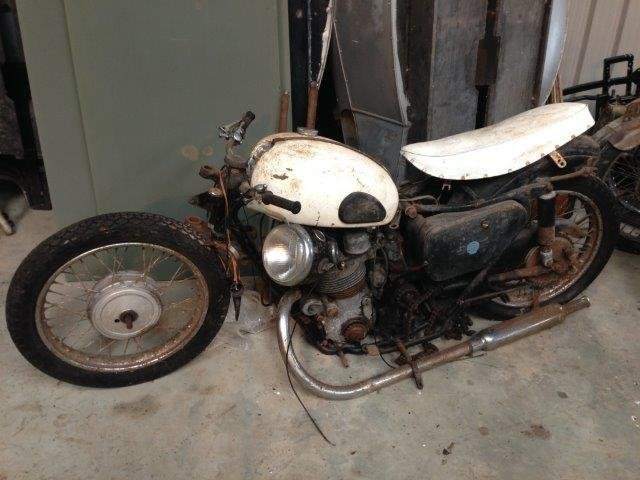 1958 AJS 600cc Model 30