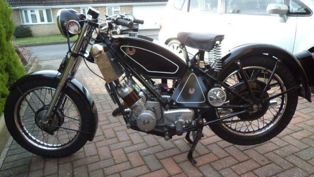 1950 Scott Flying Squirrel 600cc - 2